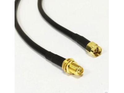 SMA male to female pigtail cable rg174 Rg178 Cable and Rg316 Cable