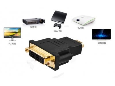 HDMI Female to DVI 24+1 Pin Male adapter
