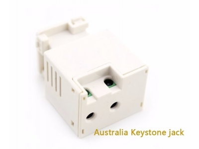 5V 2A Smart Keystone Jack USB Charger