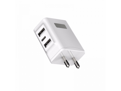 High Speed quick charger 3 USB port EU AU UK US standard for mobile charger wall charger
