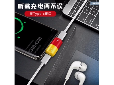 Type C 2 In 1 Adapter Usb Adapter Charging Cable