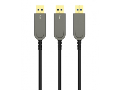 AOC USB 3.0 to USB 3.0 Active Optical Cable length 10m 20m 30m 50m 100M