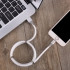 Magnetic Charger Lighting 2.4A Fast Charging Cable For iPhone